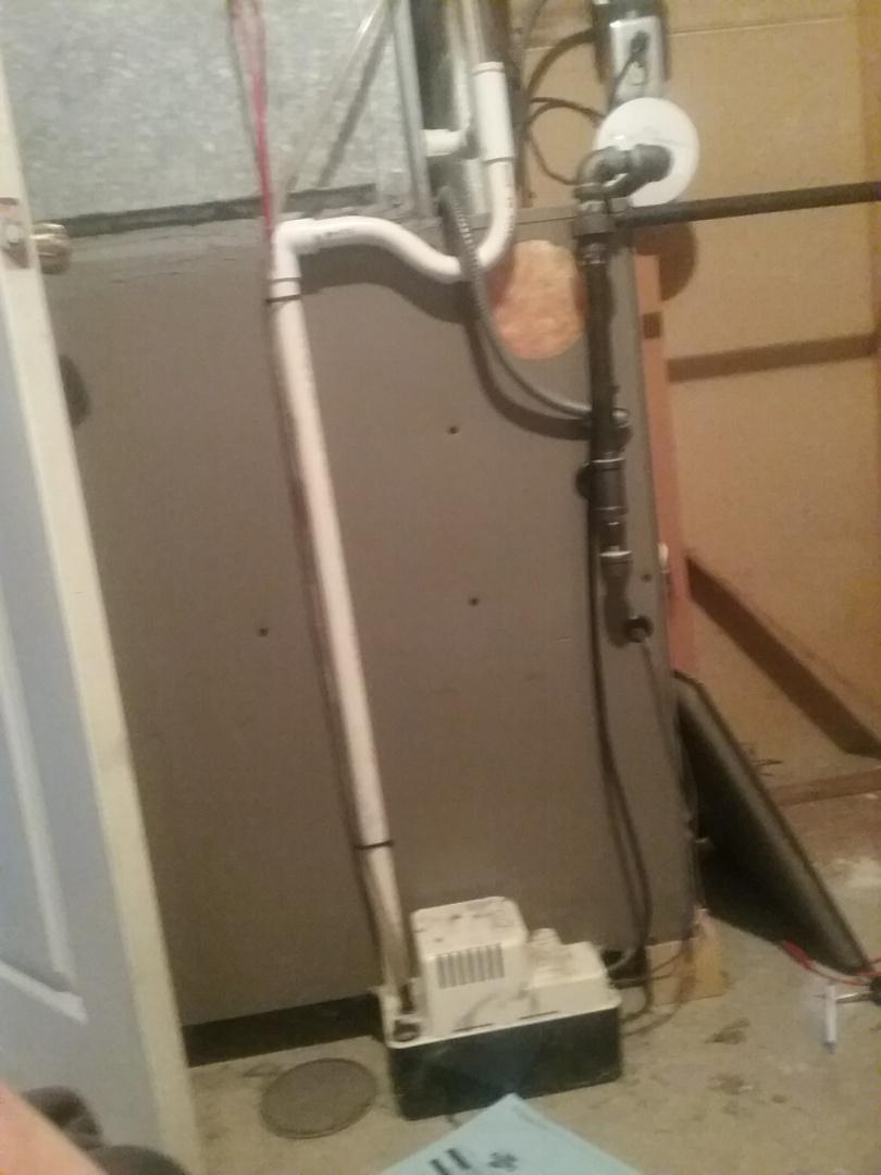 Shrewsbury, MA - Service on a york gas air furnace