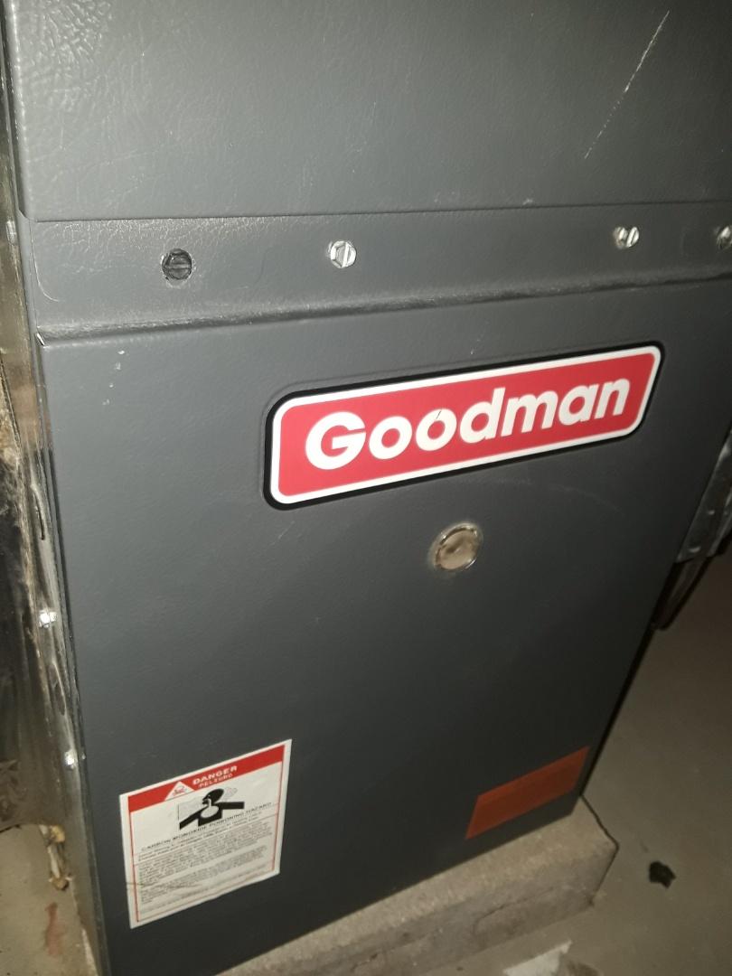Fitchburg, MA - Heat repair on a Goodman Gas Furnace