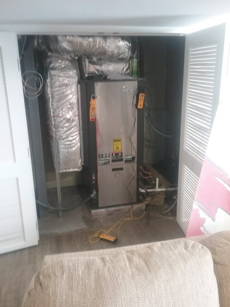 Westminster, MA - Service of a climatemaster geothermal heat pump