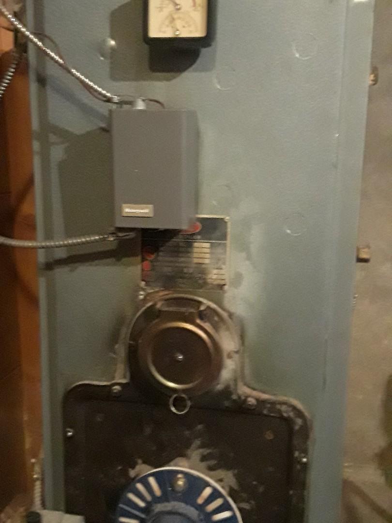 Leominster, MA - Heat repair on a Utica gas boiler