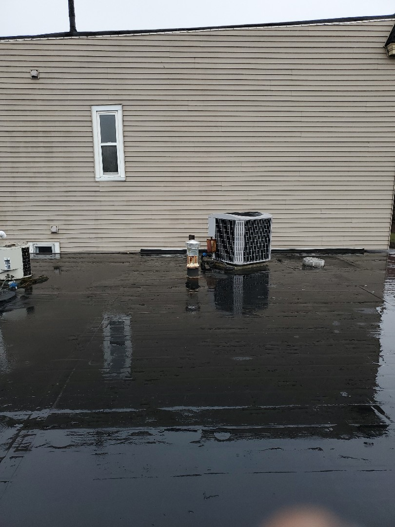 Boston, MA - installing new gas vent cap