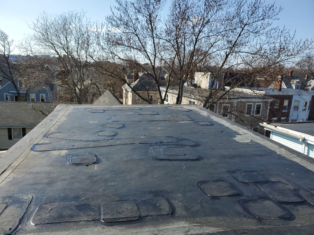 Boston, MA - patching holes and slices