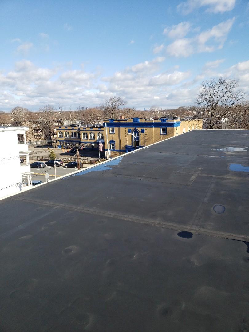 Boston, MA - Estimating three Carlisle EPDM roofs