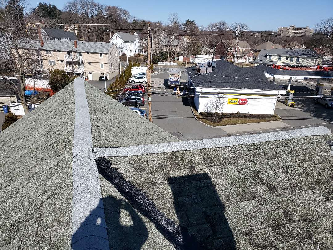 Wakefield, MA - re-capped roof