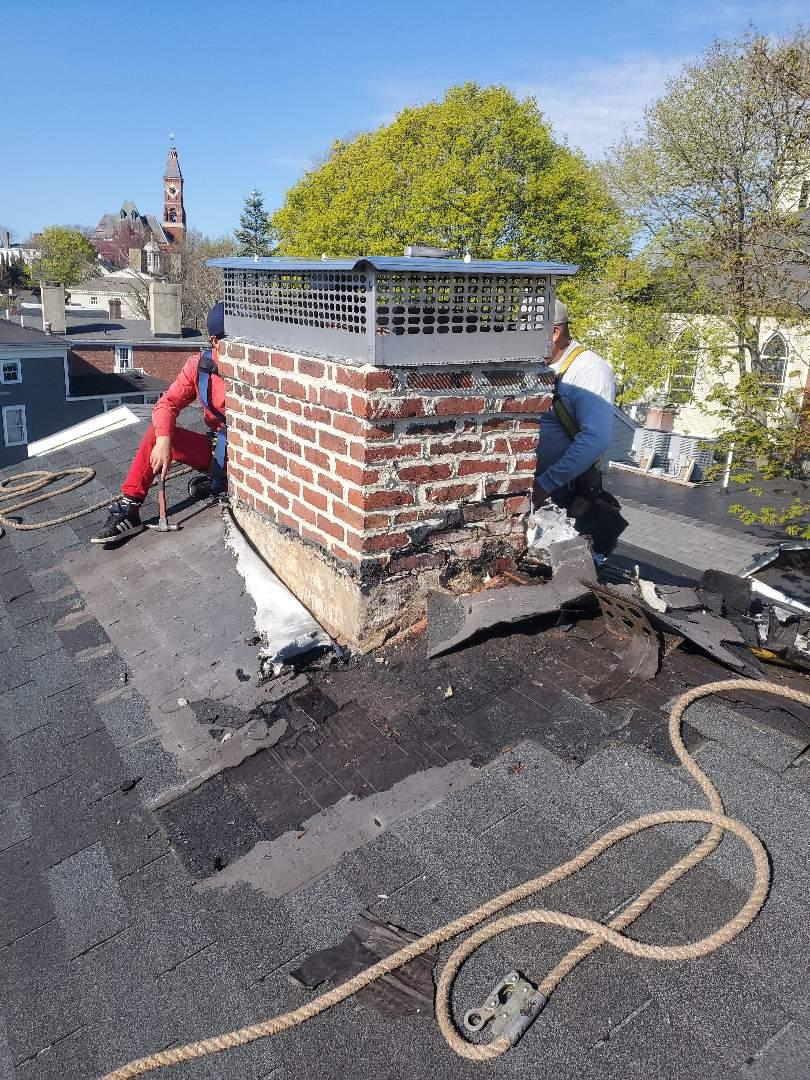 Marblehead, MA - Chimney repair