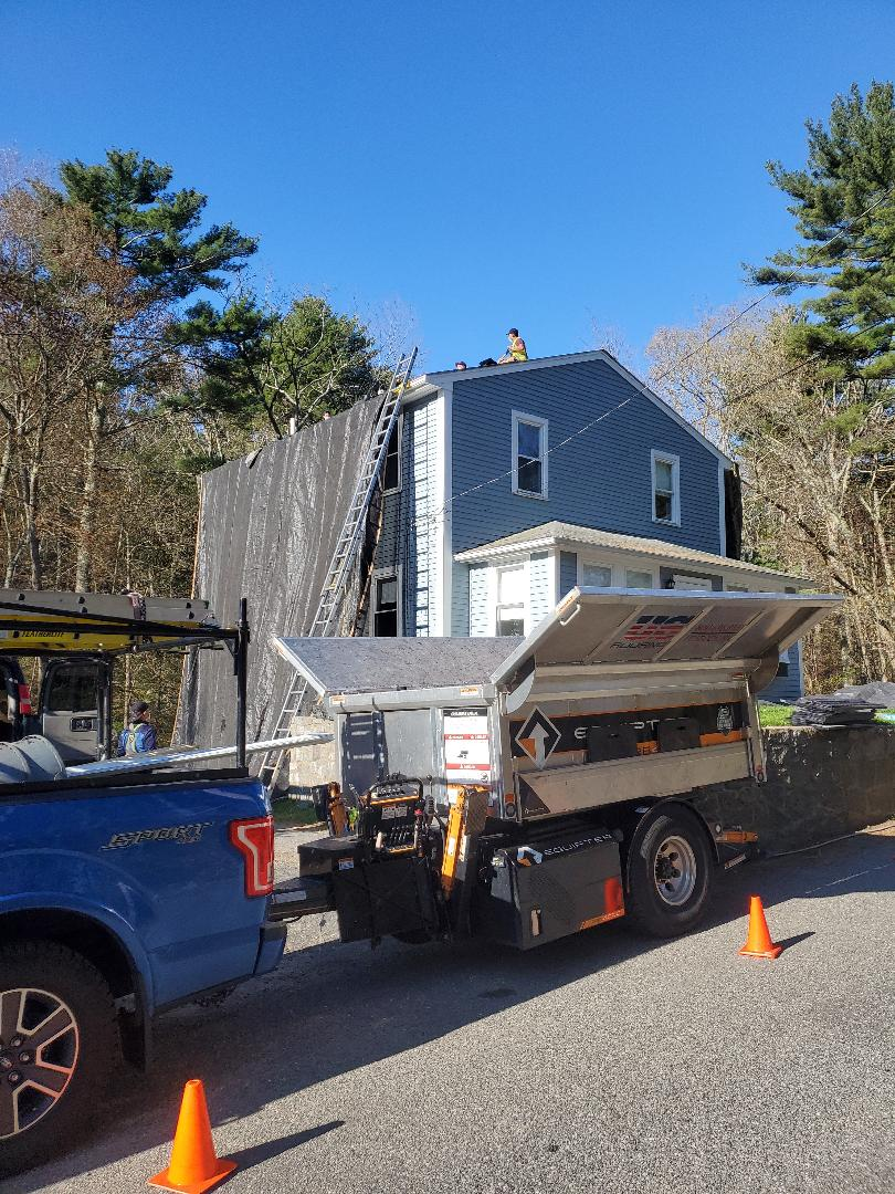 Gloucester, MA - Shingle roof replacement