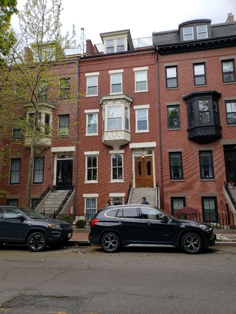 Boston, MA - Roof Replacement Estimate. #brownstone #roofdeck