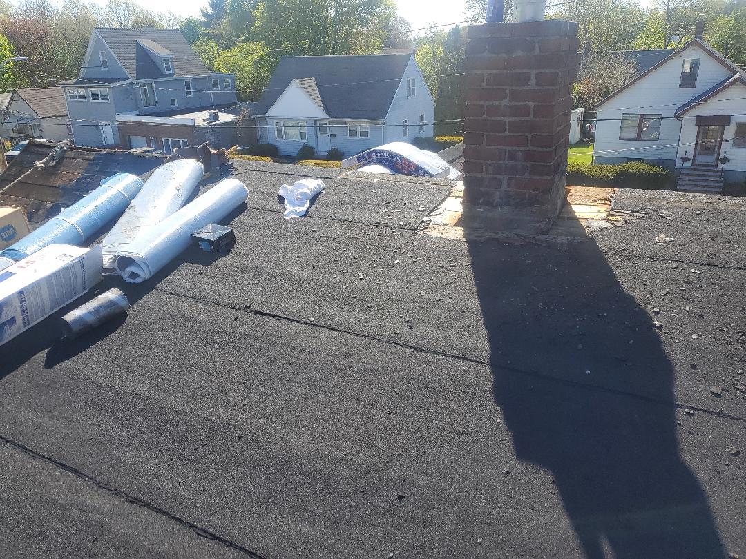 Malden, MA - Flintlastic roof