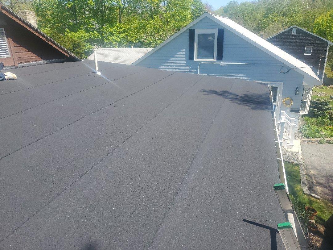 Marblehead, MA - Liberty flat roof #charcoal.