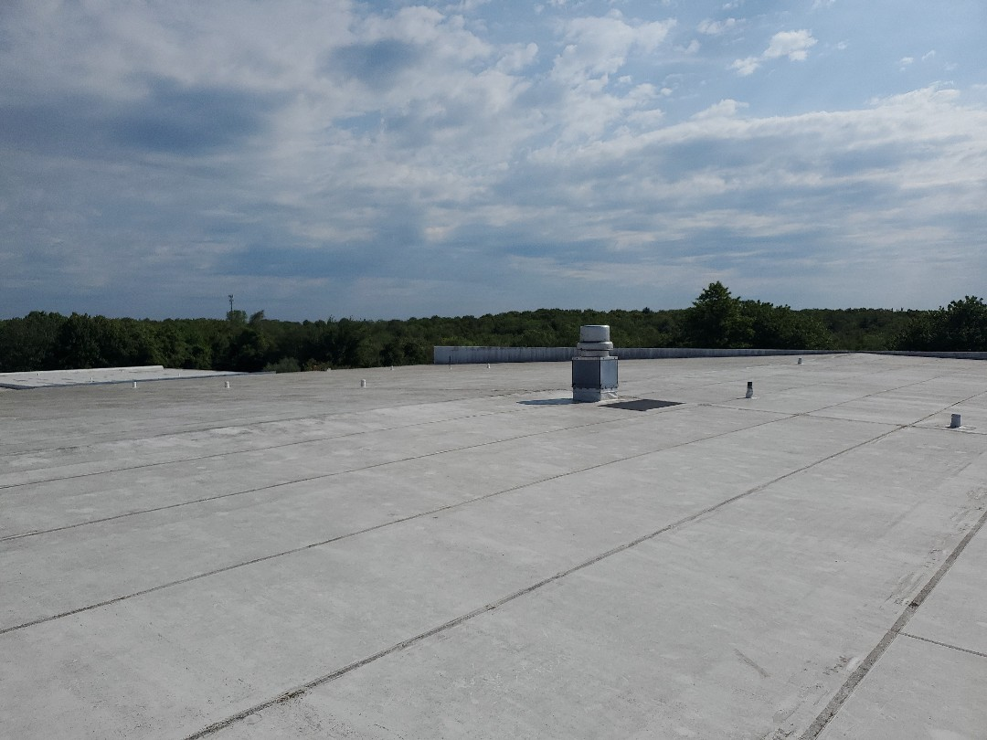 New Bedford, MA - white durolast roof/gutter cleaning, and preventative maintenance