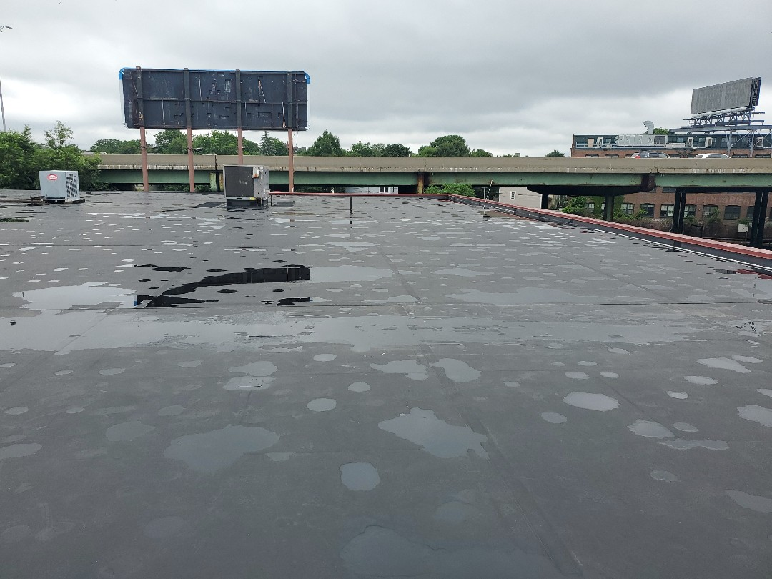 Boston, MA - Firestone epdm patched holes