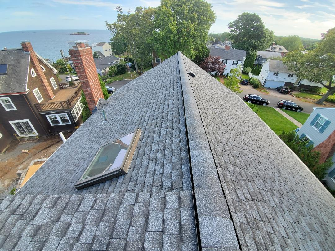 Marblehead, MA - Shingle job HDZtimberline ultra# pewter gray.