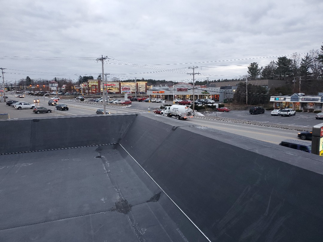 Plaistow, NH - Firestone epdm  T patches on metal seams