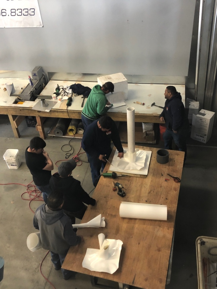 Peabody, MA - US Roofing employees improving their skills