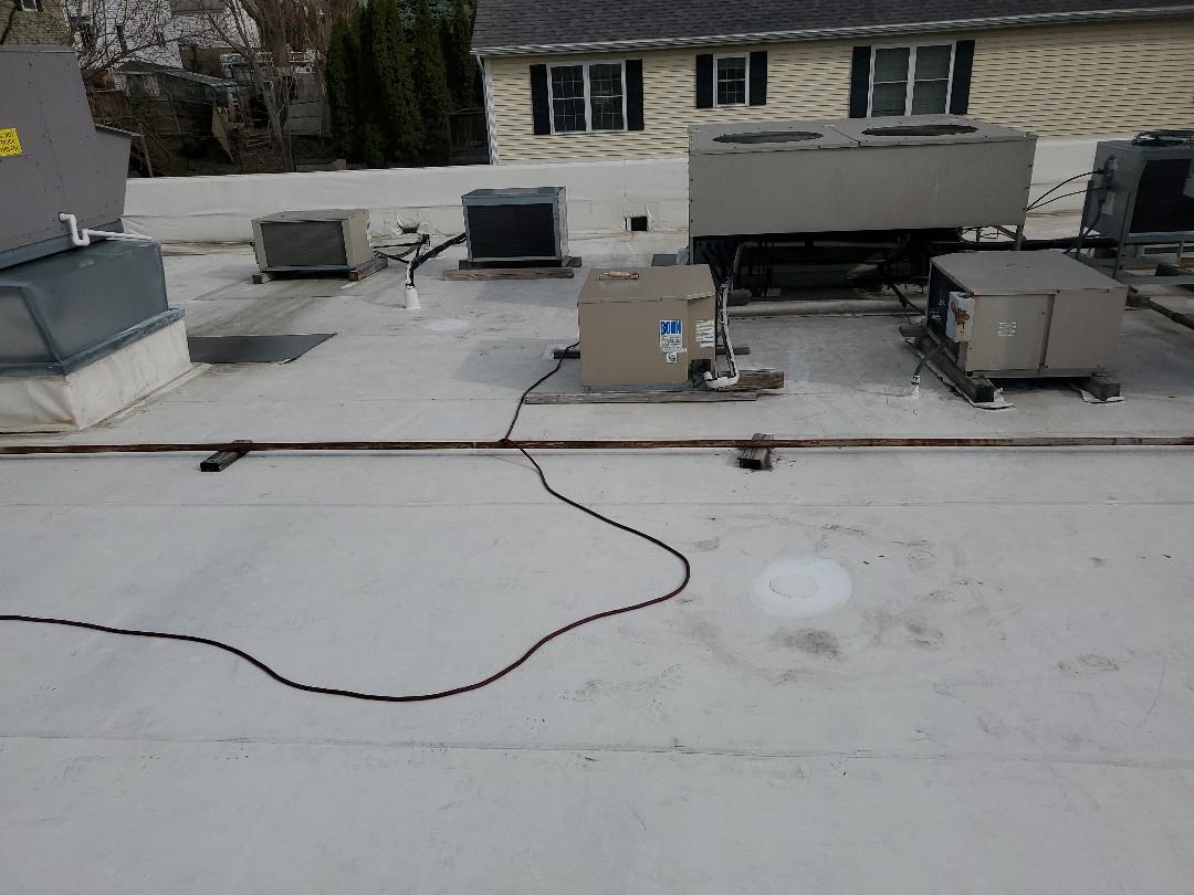 Haverhill, MA - duro-last roof repairs on 7-11