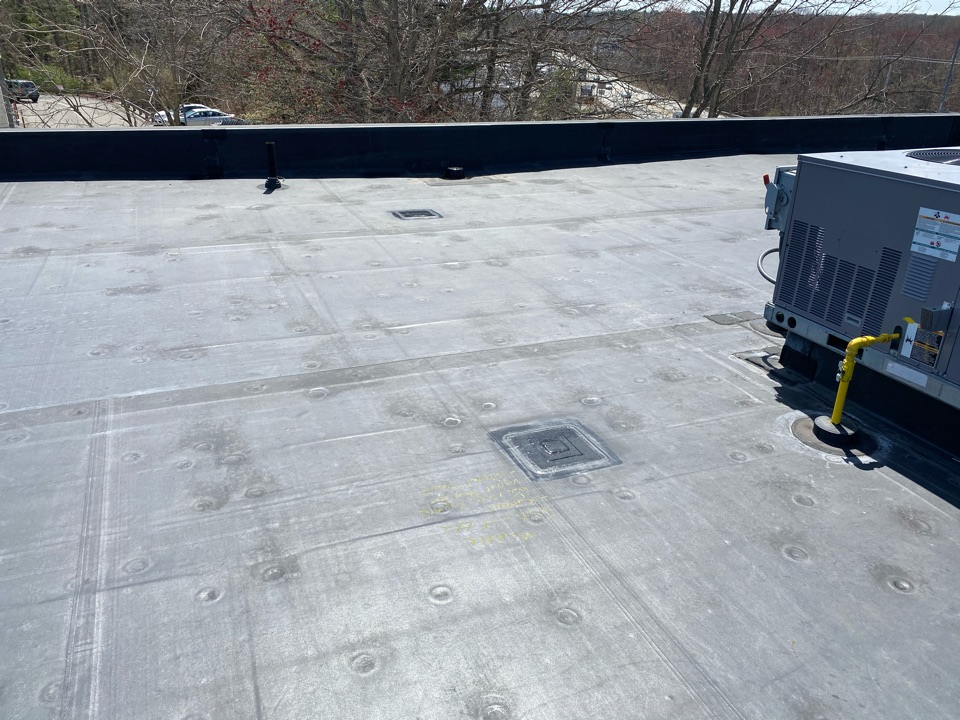 Plainville, MA - Roof easement/ test cuts on a EPDM fully adhered roofing system for future roof installments