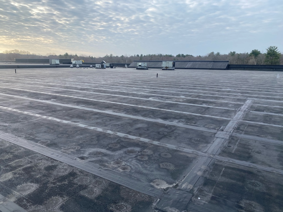 Raynham, MA - Roof easement  on a EPDM fully adhered roofing system