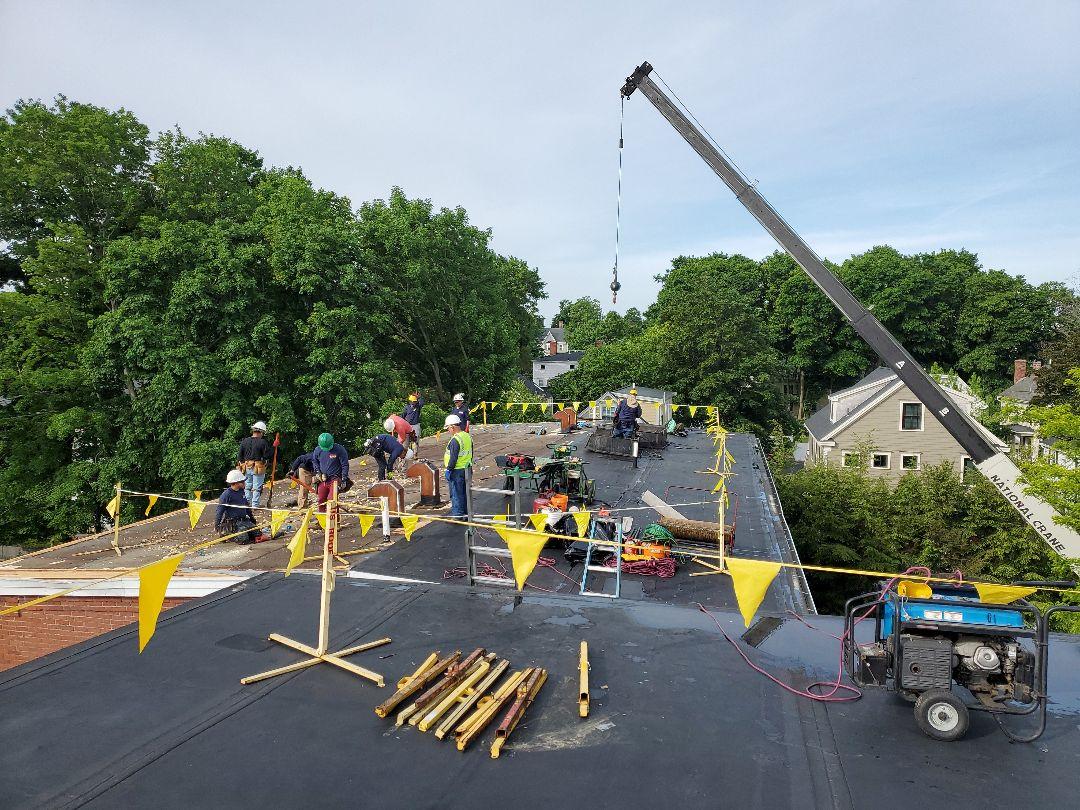 Newburyport, MA - Rubber roof