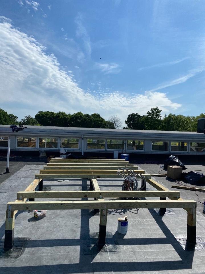 Newburyport, MA - Getting ready for ac/ units