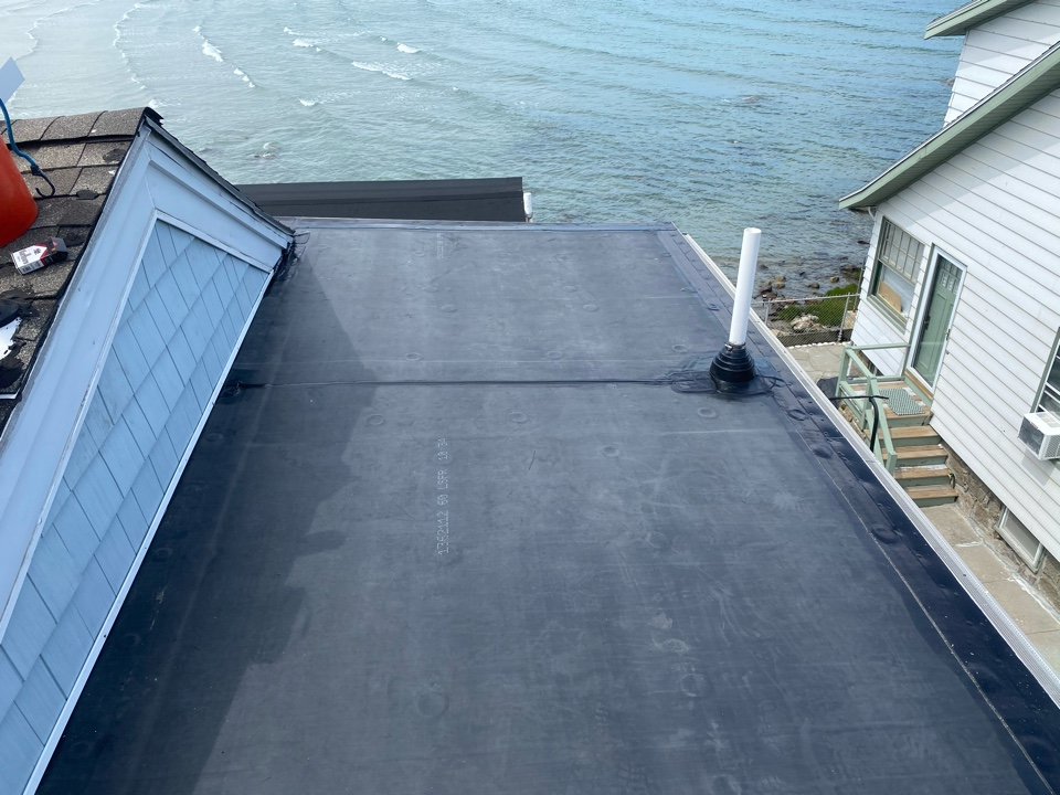 Nahant, MA - Installed Firestone full force epdm roofing system