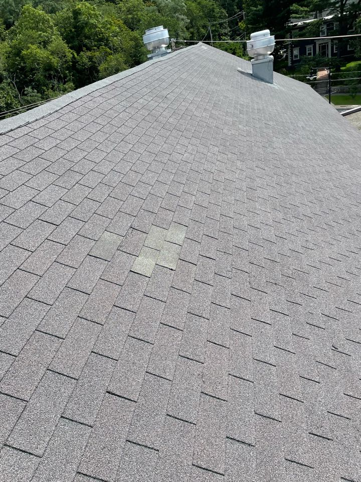 Salem, MA - Replaced missing shingles