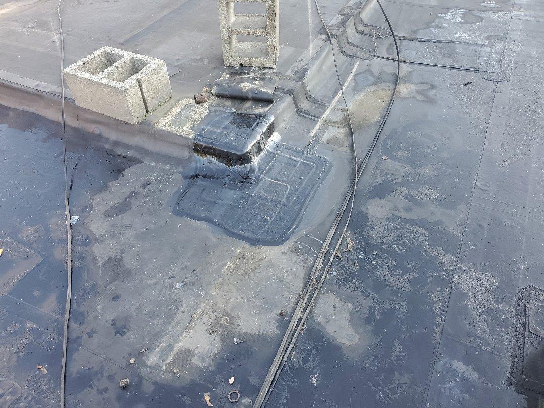 Somerville, MA - Carlisle EPDM  reflashed outside corner