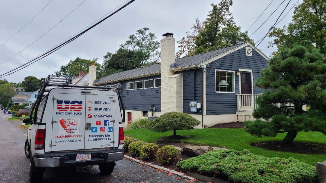 Marblehead, MA - Estimate for a GAF Timberline project.