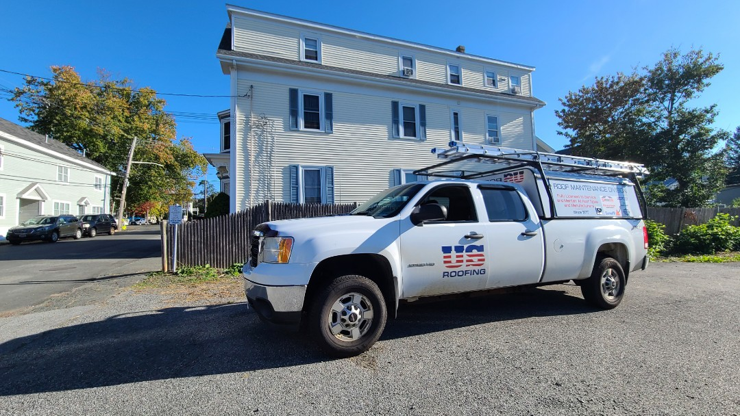 Marblehead, MA - Roof inspection #chimneyflashing