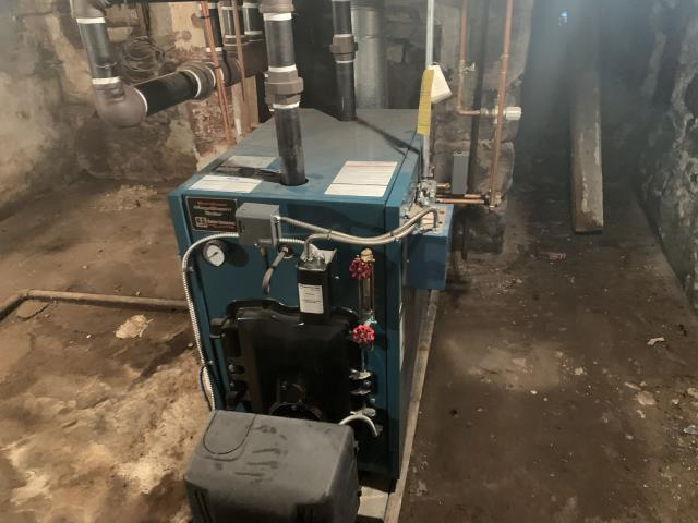 Hatfield, PA - Replacing a complicated oil steam comby boiler to a more efficient well McLean steam gas boiler, in Hatfield, PA.
