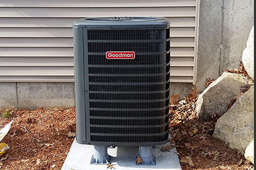 Yardley, PA - Full system replacement in Morrisville,  Bucks county PA  NEW 2.5 Ton 14 SEER Goodman GSZ14 Heat pump WITH A Goodman ARUF30 2107086959 Air handler And a - FREE New T4 Digital Programmable Thermostat*