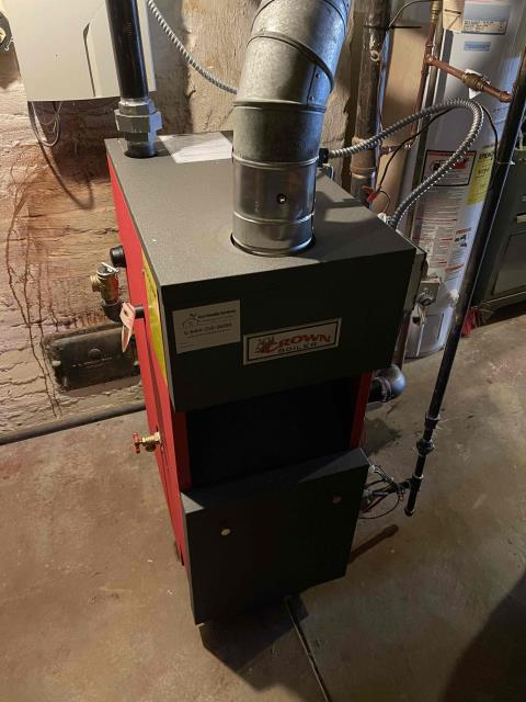 Philadelphia, PA - Installed a new Crown  Bermuda gas Steam boiler with Family Maintenance plan member for maximum efficacy and peace of mind.