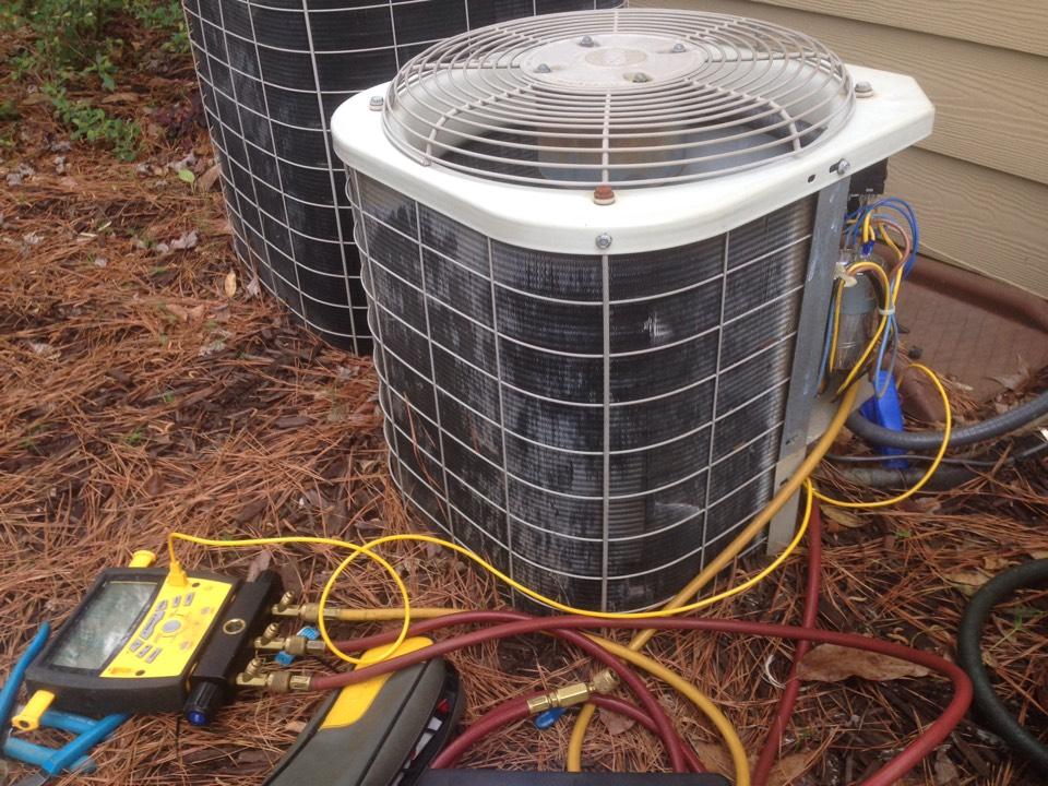 Conyers, GA - Repairing a Bryant AC system