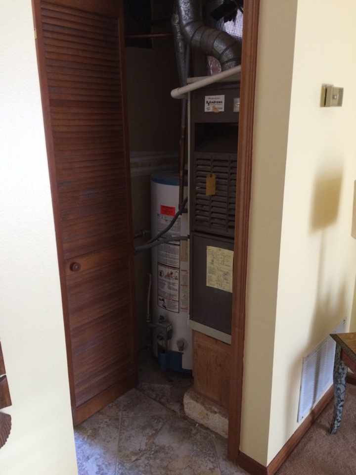 Avondale Estates, GA - Replacing a furnace evaporator cool and an air conditioner.