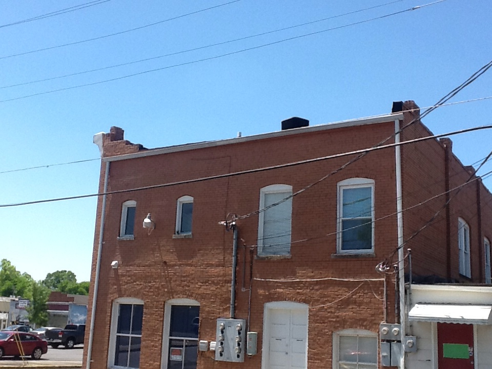 Cedartown, GA - Working on a rooftop.