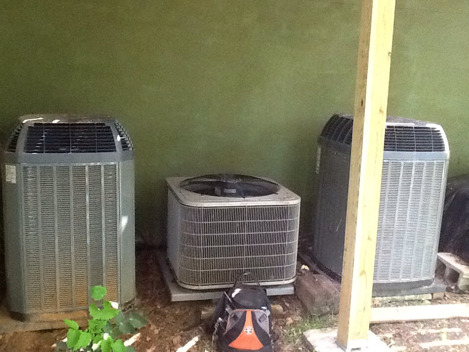 Waleska, GA - Air Conditioning Tune Up on two TRANE units and an older Carrier