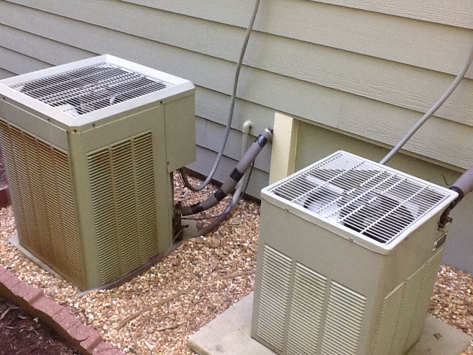 Waleska, GA - Air Conditioning tune up on two old Trane units