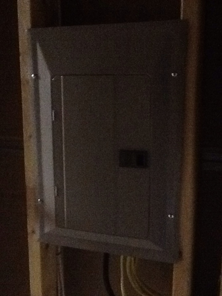 Peachtree City, GA - Electrical repair- installed 60 circuit sub panel