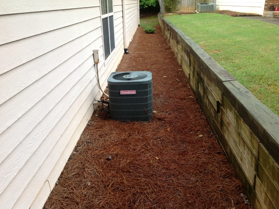 Fayetteville, GA - Air Conditioning Quote turned into Repair equals a very happy Customer!