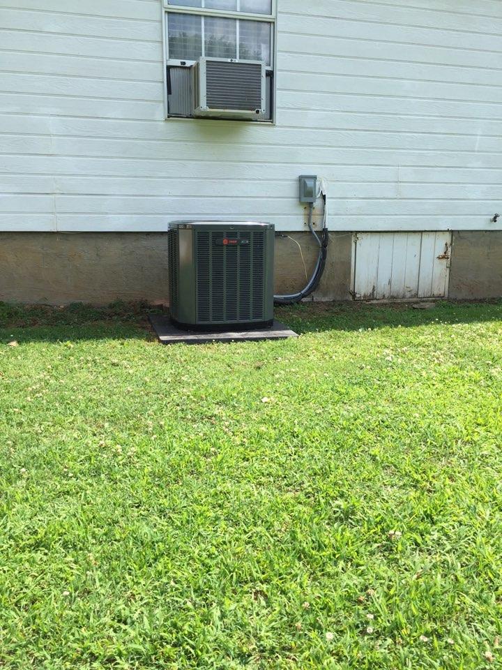 Cedartown, GA - Install new Trane HVAC system