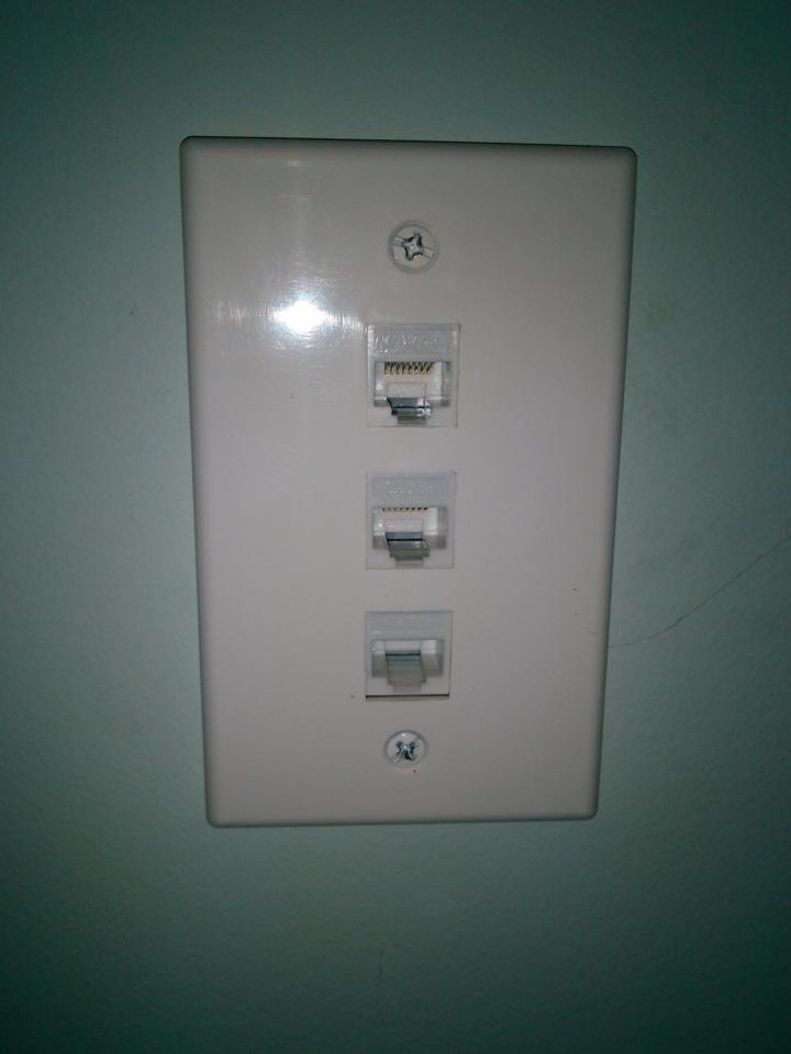Conyers, GA - Electrical repair add Ethernet line