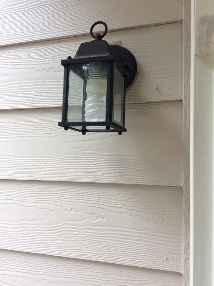 Fayetteville, GA - Electrical repair quote for porch lights