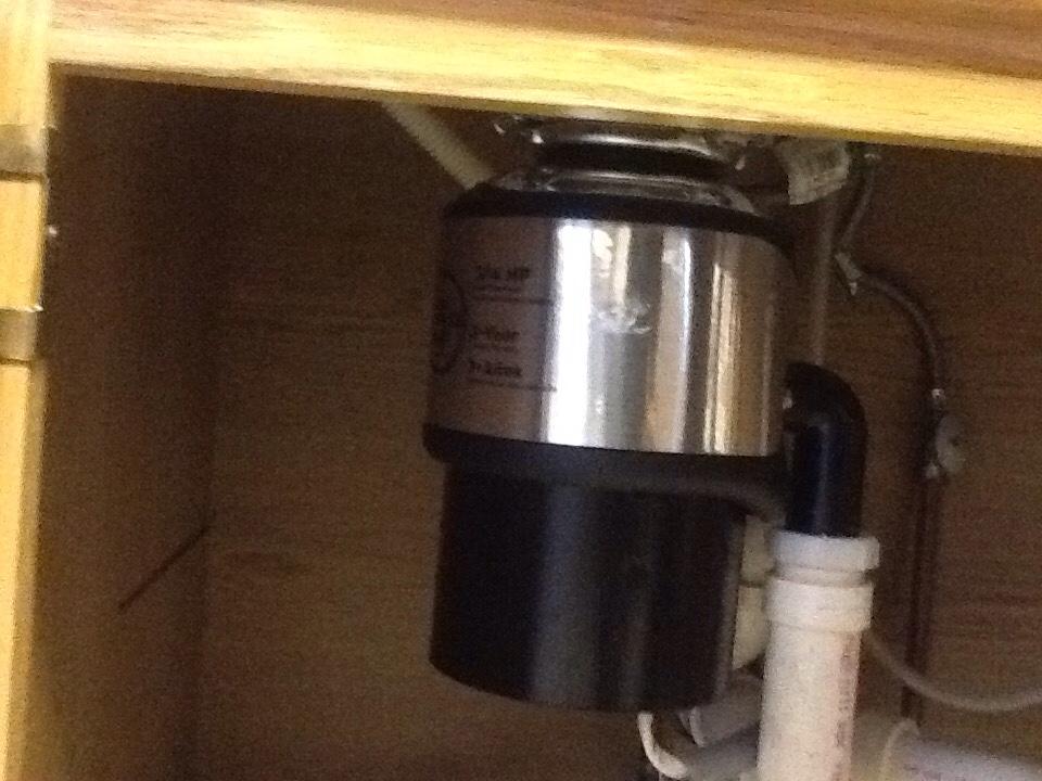 Fayetteville, GA - Plumbing repair, install new 3/4 hp disposal and new toilet
