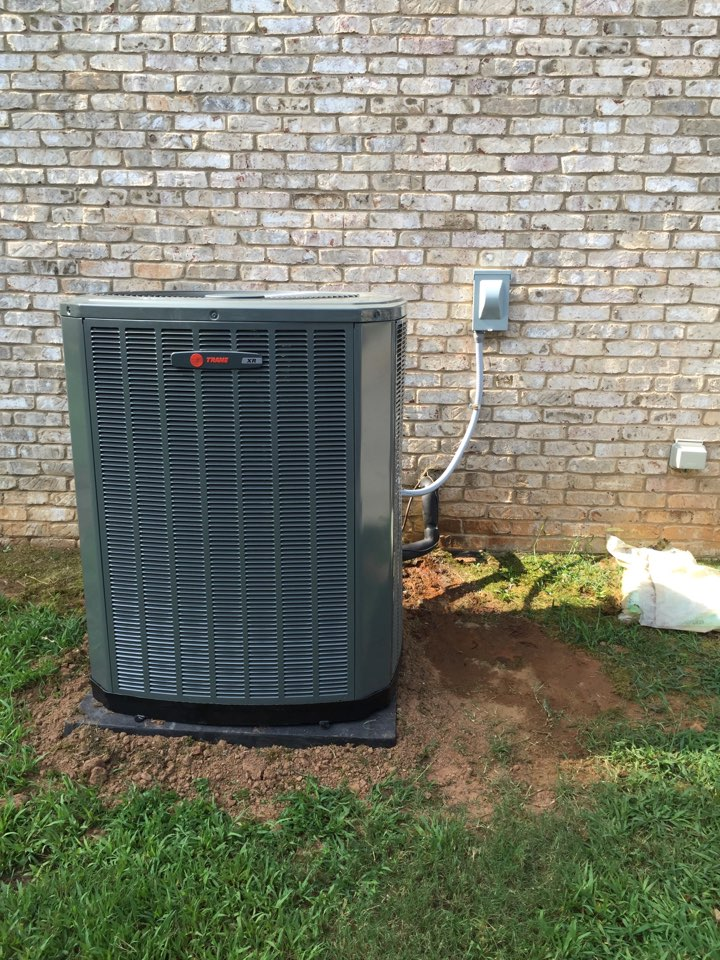 Stockbridge, GA - Install new Trane 17 seer HVAC system