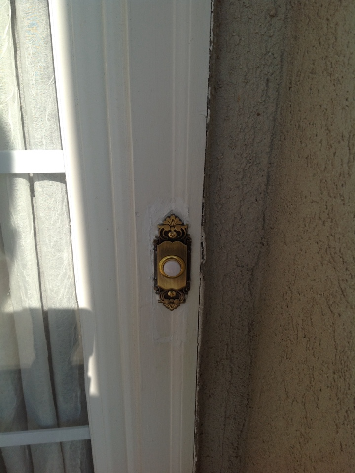 Newnan, GA - Electrical repair replace doorbell button