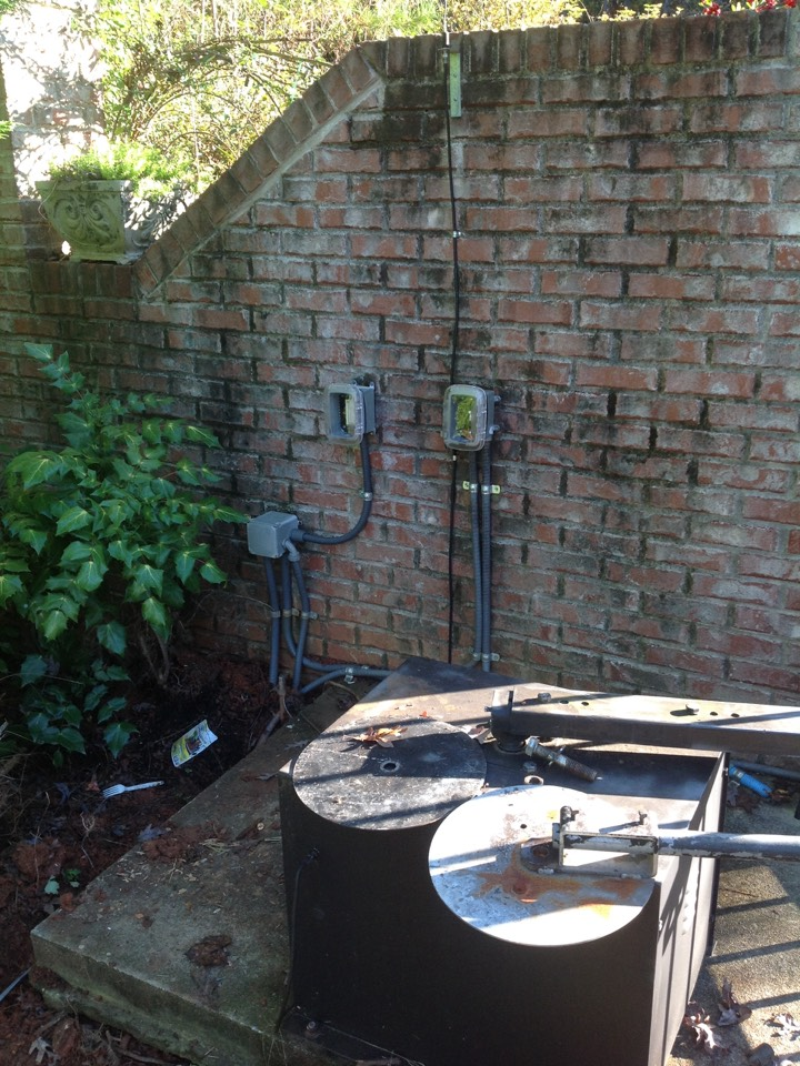 Conyers, GA - Electrician electrical repair replace wire to gate opener