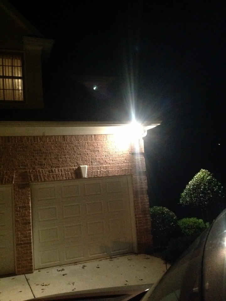 Fayetteville, GA - Electrical repair electrician install flood light motion