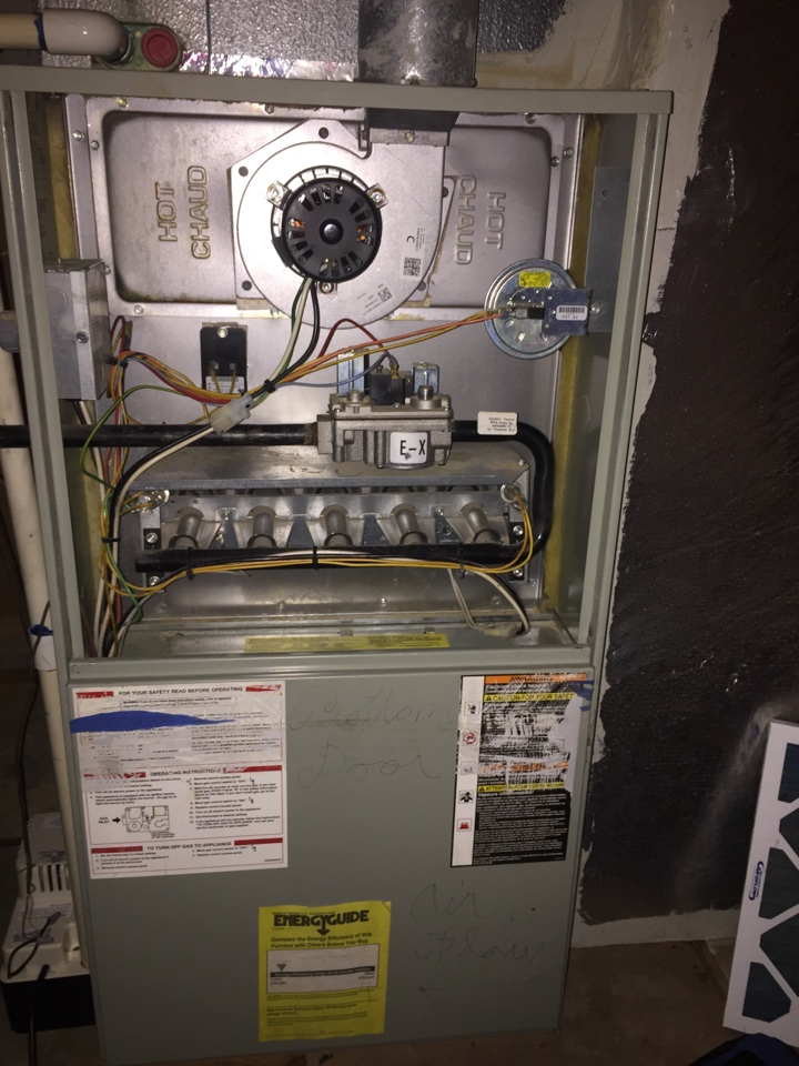 Johns Creek, GA - Annual service on 3 Trane heating systems