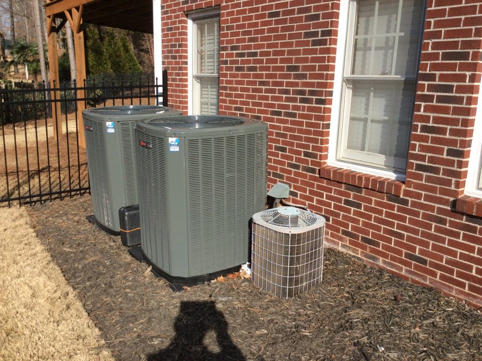 Milton, GA - Annual service on three air-conditioning systems