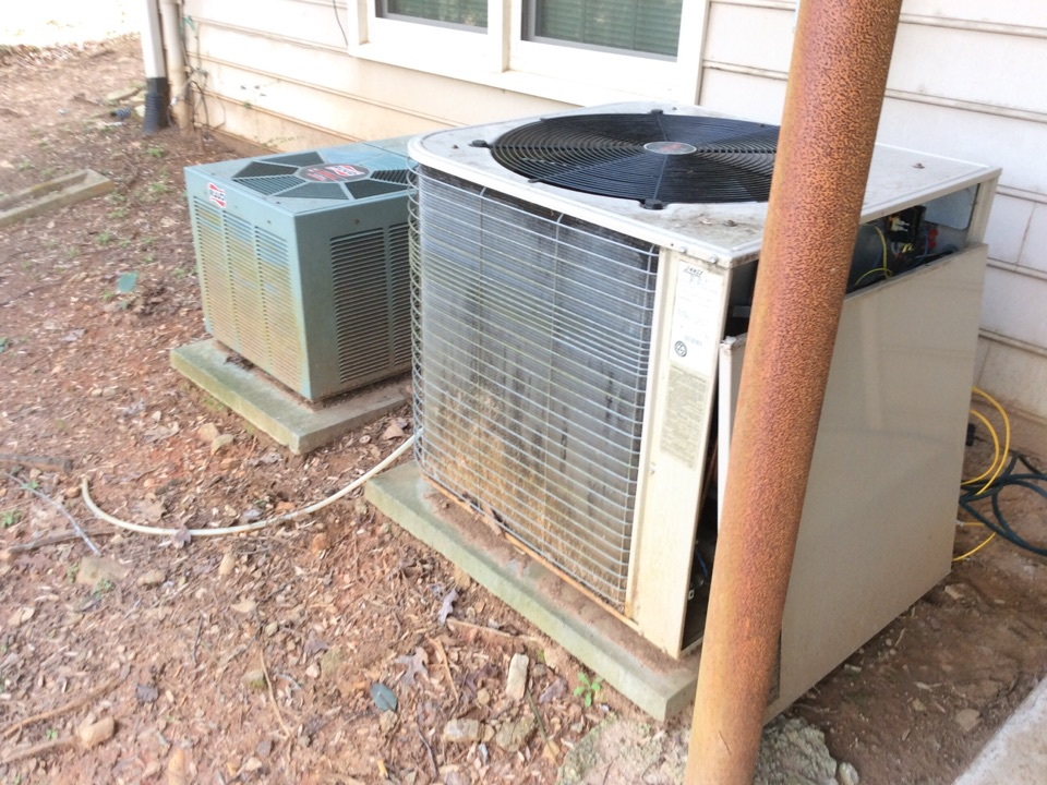 Norcross, GA - Annual service on 2 air conditioning systems
