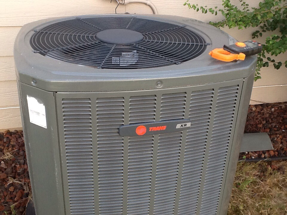 Johns Creek, GA - Air conditioning tune up on two trane systems